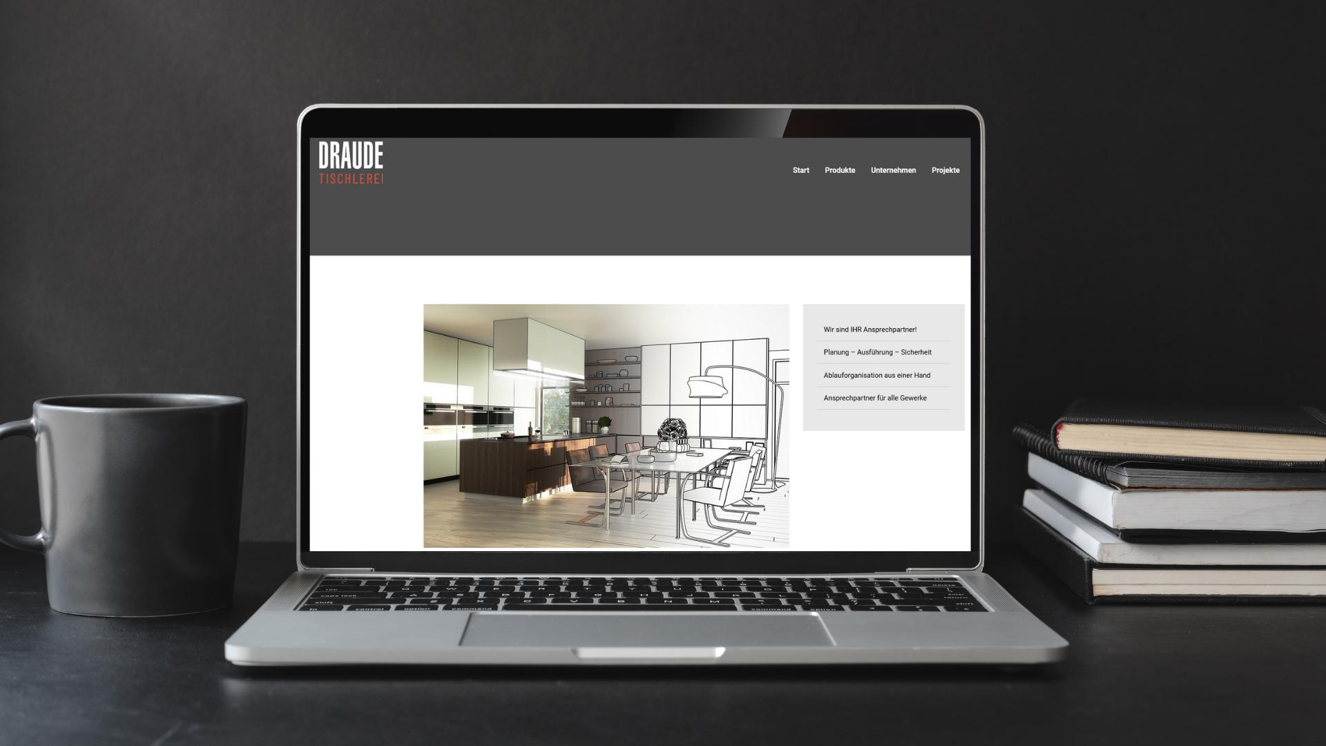 Draude Tischlerei Webseite