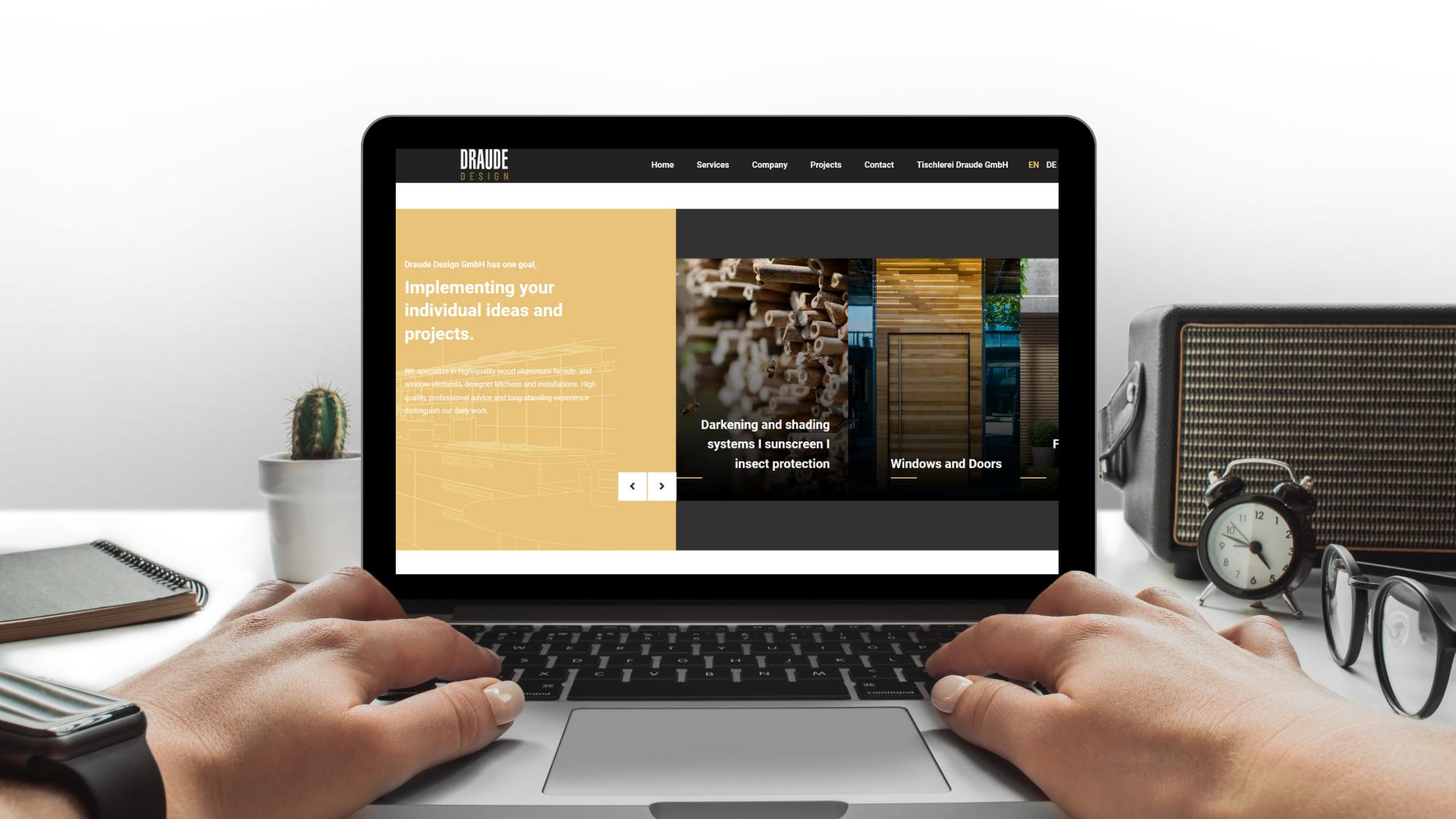 Draude Webseite