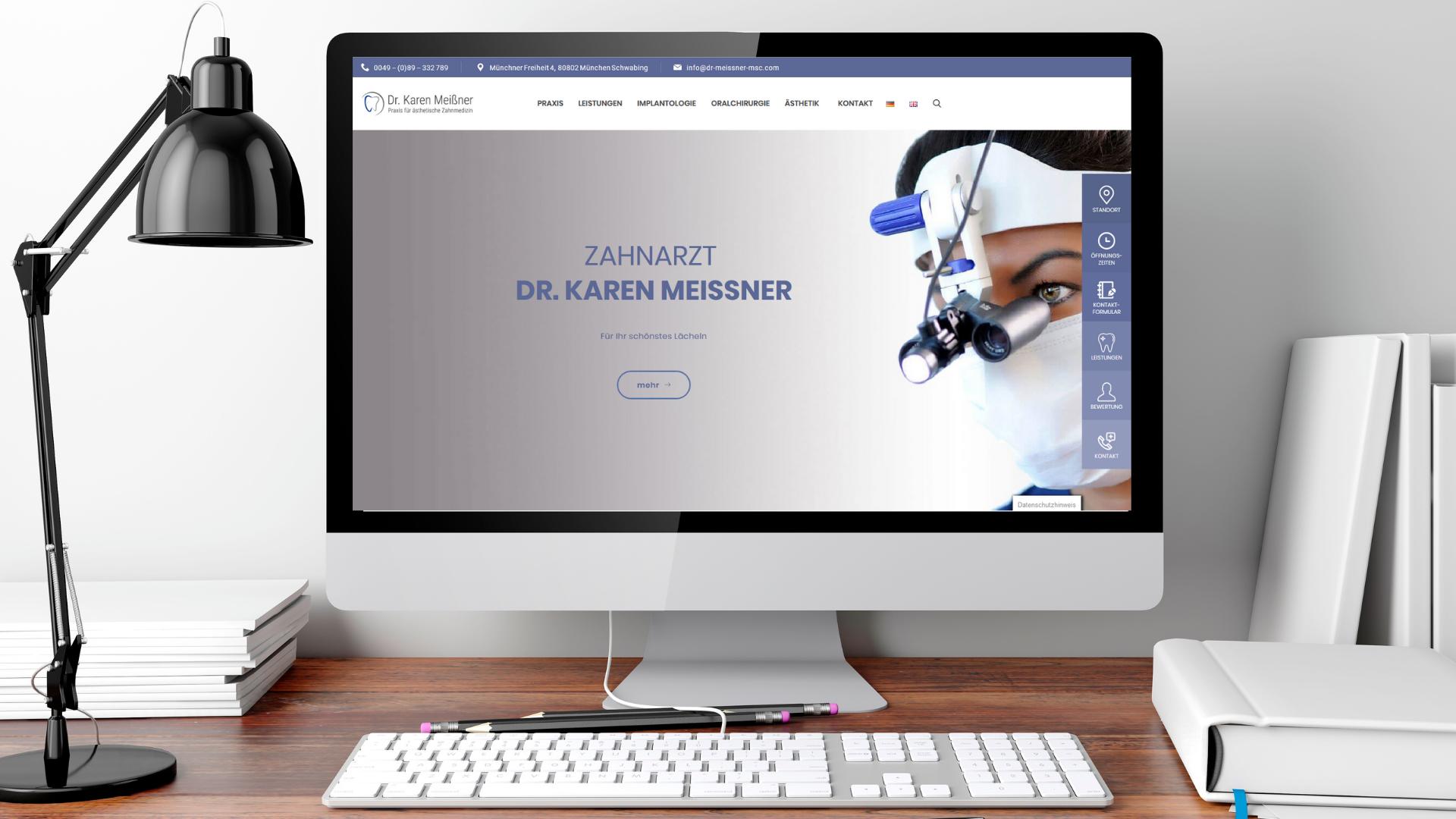 Meißner Webseite