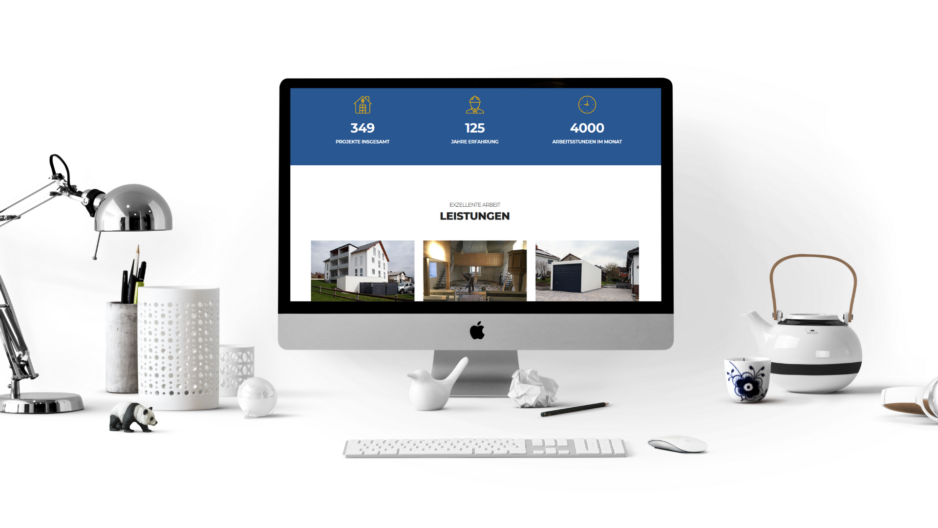 Tripp Bau Webseite